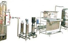 Mineral water ISI Plant